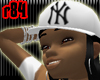 [r84] White NY Cap2 BlkH