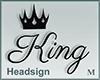 Headsign King