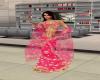 pink lehenga shawl
