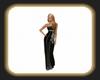 Caz black gown