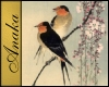 Oriental Birds Painting