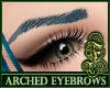 Arched Eyebrows Peacock