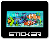 Fishtank Sticker