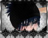 *D Blue Hair Hat