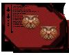 Bronze Owl Studs