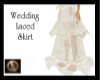 [xTx]Wedding Laced skirt