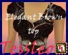 Elegant Brown Top