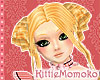 DOLL Gold Blond CURLY DOLL