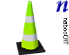 Traffic Cone tall green