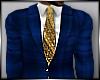 So Royal Blue Full Suit
