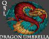 Japanese Dragon Umbrella