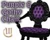 Purple&Gothy Chair