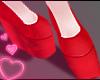 ♥ flatforms - red