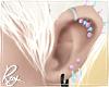 Pastel Piercings-Vio+Blu