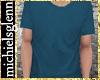 Casual t-shirt blue