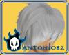 Silver Emo Hair