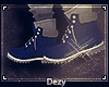 D  Gray and Blue Tims