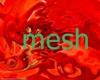 mesh gundam red