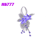 HB777 SFF Earrings Blu/S