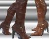Brown Stiletto Boots