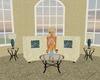 Elegant Beige Sofa 5p