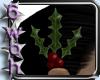 [6] Holly hairclip