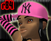 [r84] Pink NY Cap2 BlkH
