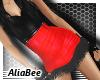 aB + Red Dance Dress
