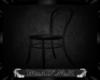 black poseless chair