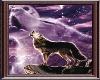 Ghost Wolf Sticker/frame