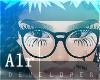nerd glasses black