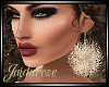 Puffball Earrings/ Ivory