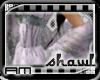 [AM] Shawl Glitter White
