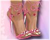 Wishing Well Heels Pink