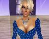 A~Necklace blue