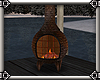 ~E- Winter Chiminea