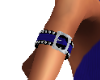 R BLUE BUCKLED ARMBAND