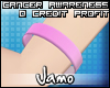 Cancer Aware Wrist Band