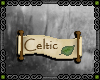 {R} Scroll - celtic