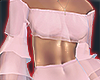 I│Ruffle CropTop Pink2