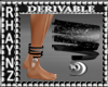 3Moons Bangle Anklet-Rgt