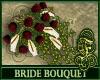Bride Bouquet Burgundy