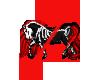 Famine Horse Badge