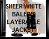 LAYERABLE BALERO SHEER