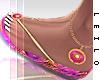! L! Stella Pink Sandals