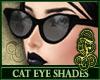 Cat Eye Shades Black