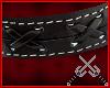 Black Leather Armband