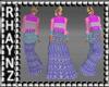 Frill Layered Dress Mesh