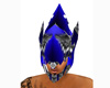 Blue Armour Helmet