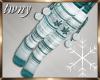 Let it Snow Pom Socks